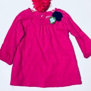 Like New Carters Girls Pink 12 Months  Dress